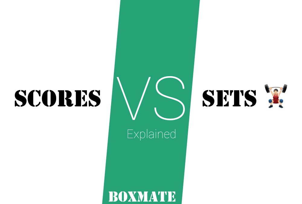Logging Exercises – Scores vs Sets