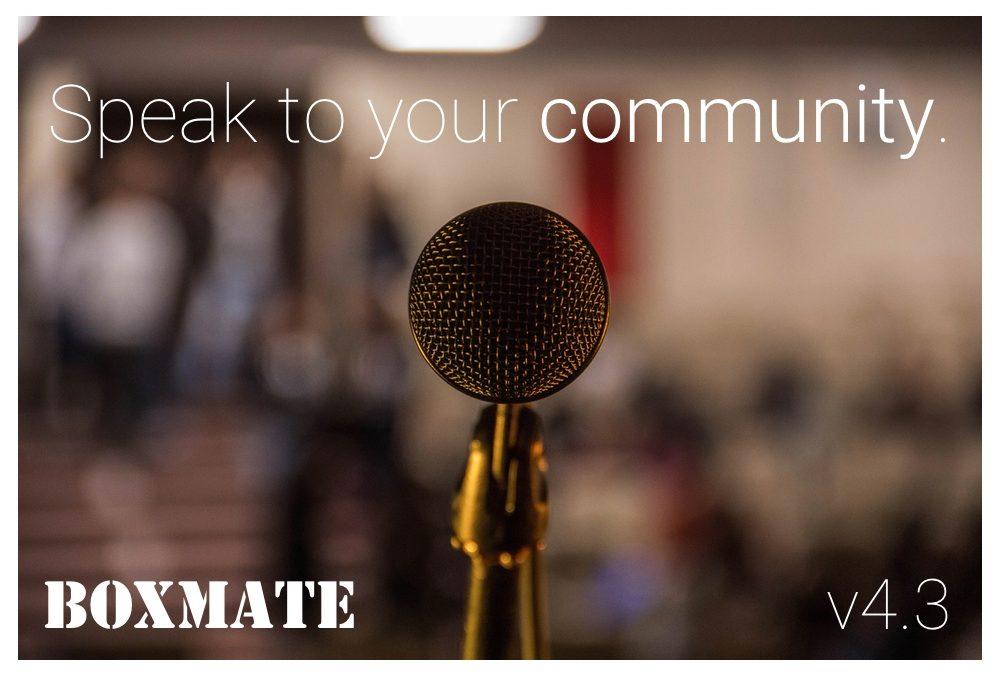 Admin v4.3 – Communication Is Key 🔑