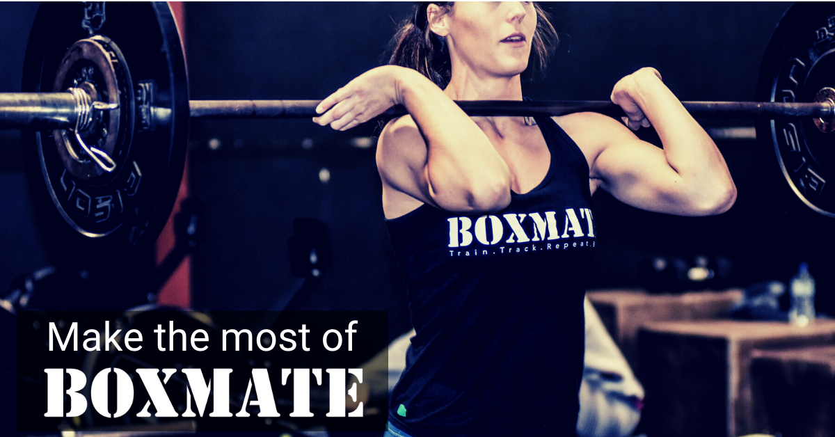 Make the most of BoxMate 😎