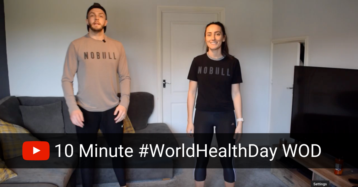Get Your WOD on For World Health Day 💪🏻