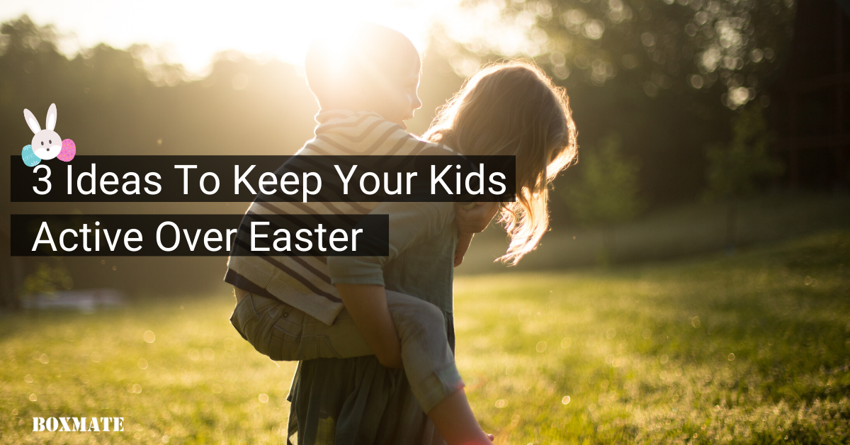 Fun Exercise Ideas For Kids this Easter Weekend.
