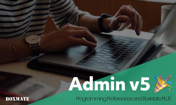 Admin 5.0 Release
