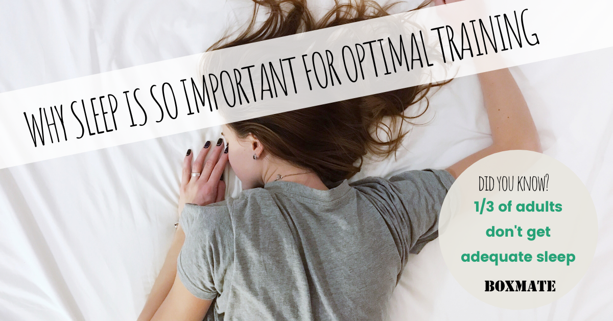 Why Sleep Is So Important For Optimal Training.