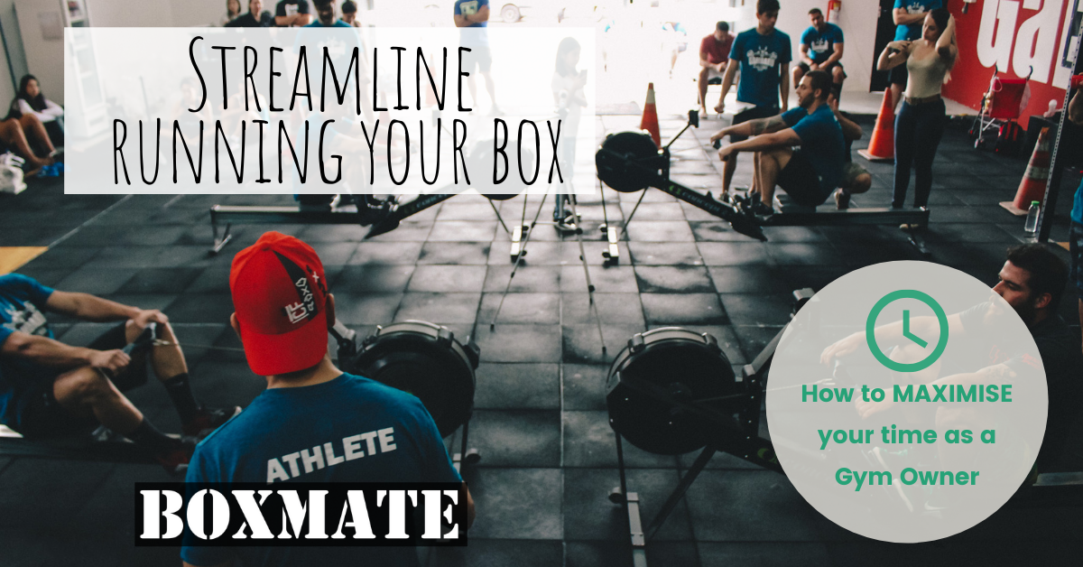 Streamline Running Your Box