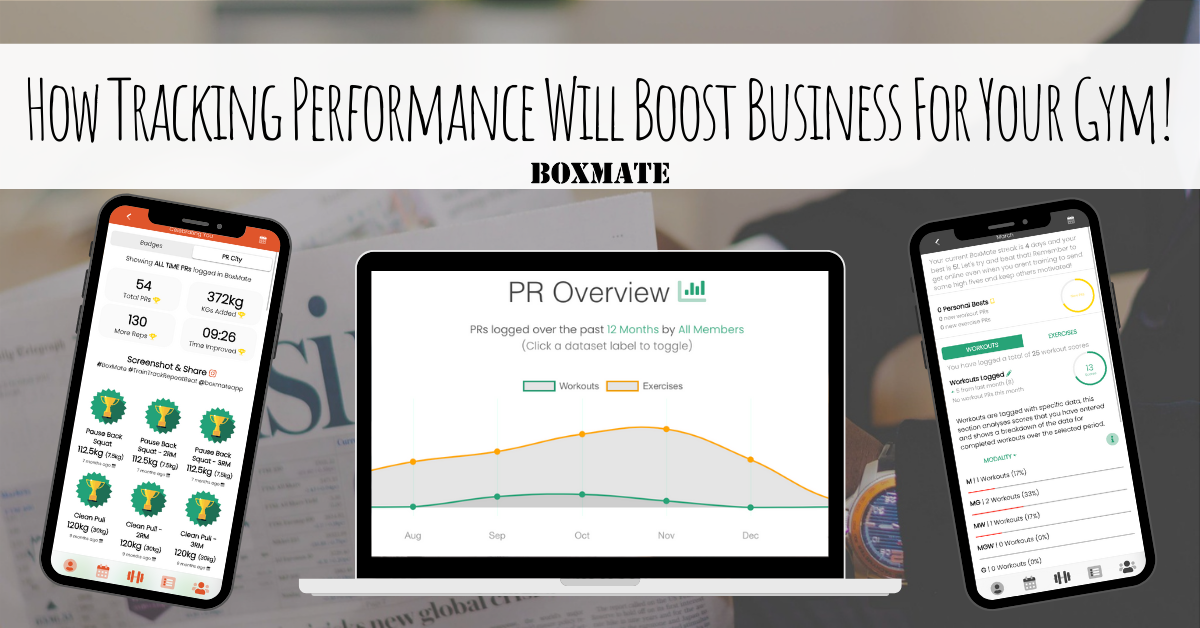How Tracking Performance Will Boost Business For Your Gym!