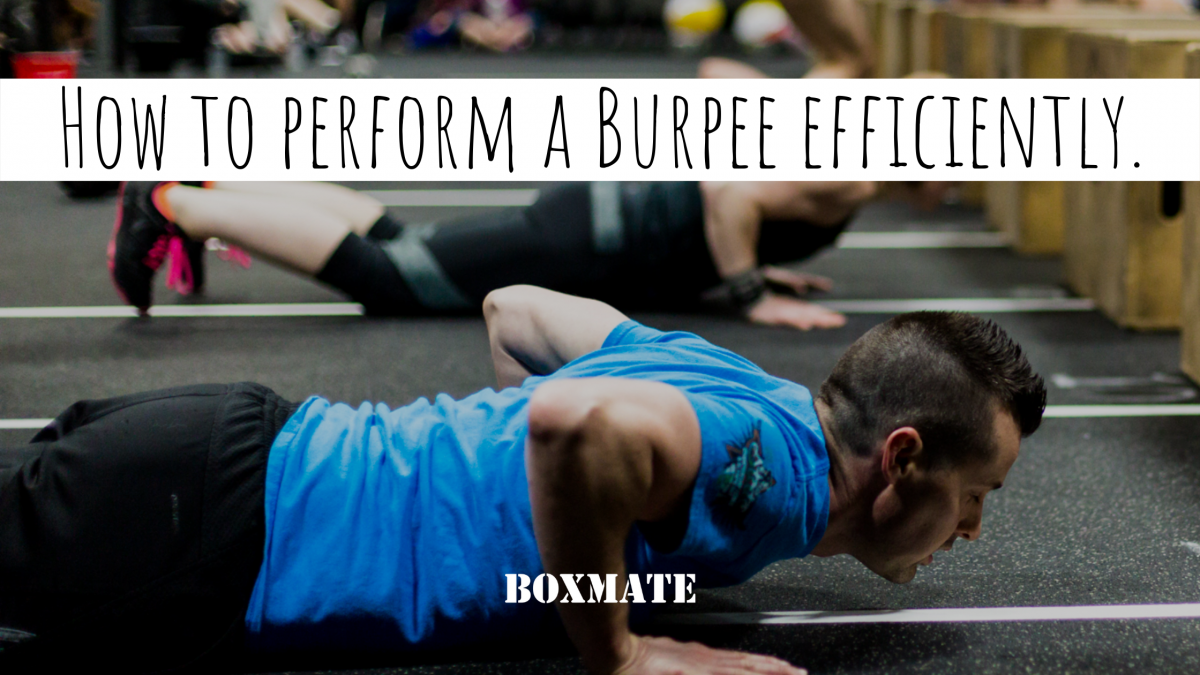 How To Perform a Burpee Efficiently.